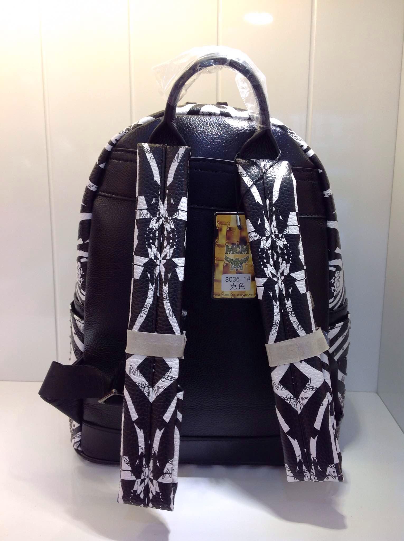 MCM中号斑马包 时尚潮流 欧美大牌明星款