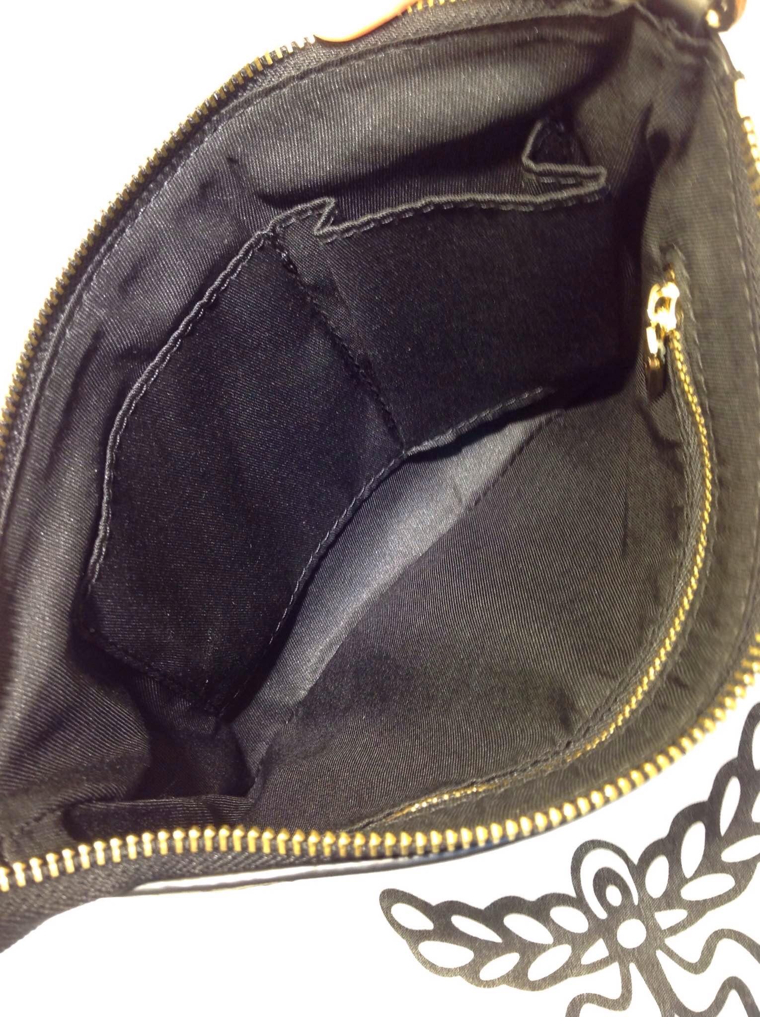 一手货源 MCM专柜新款斑马纹 正反两用子母购物袋  土黄色
