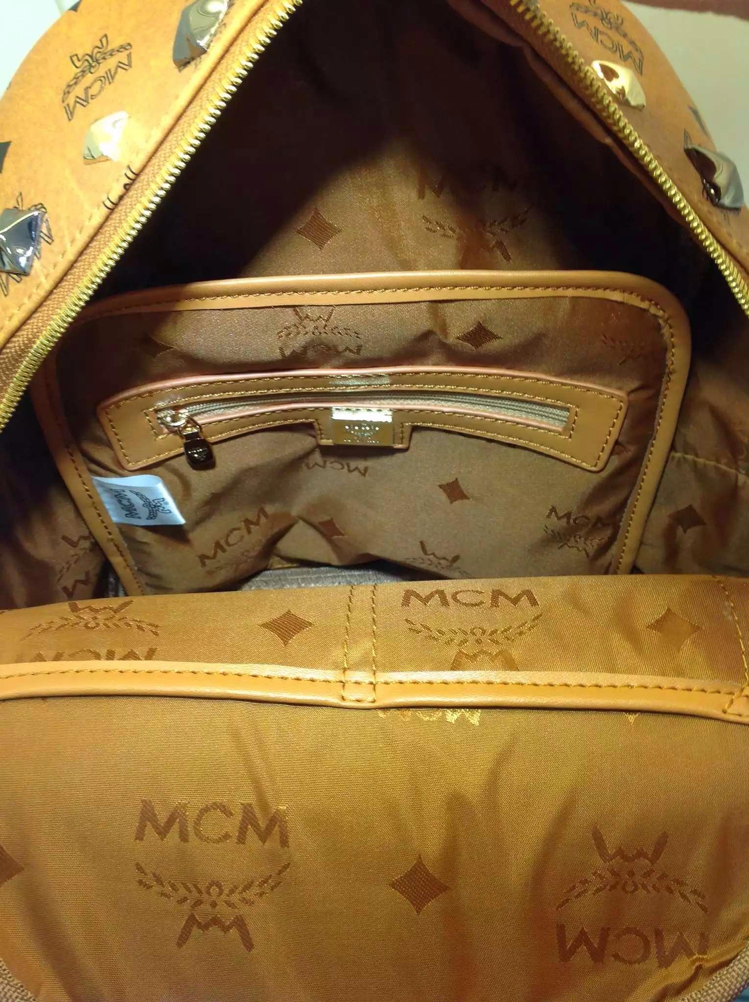 MCM背包 印花款 多色 大小号双肩包