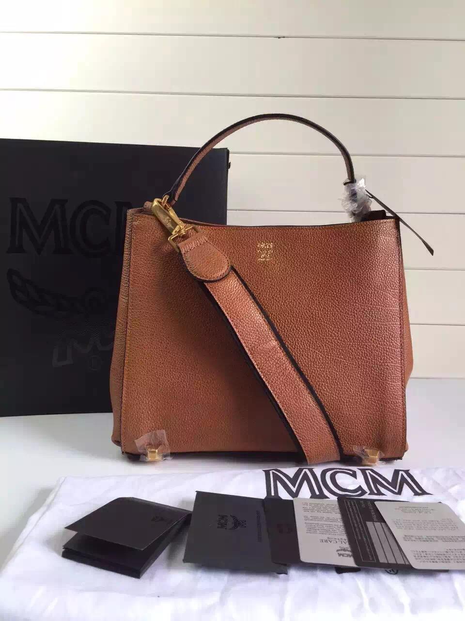 MCM中国官网 进口牛皮搭配纯棉里布 时尚耐用 一件代发