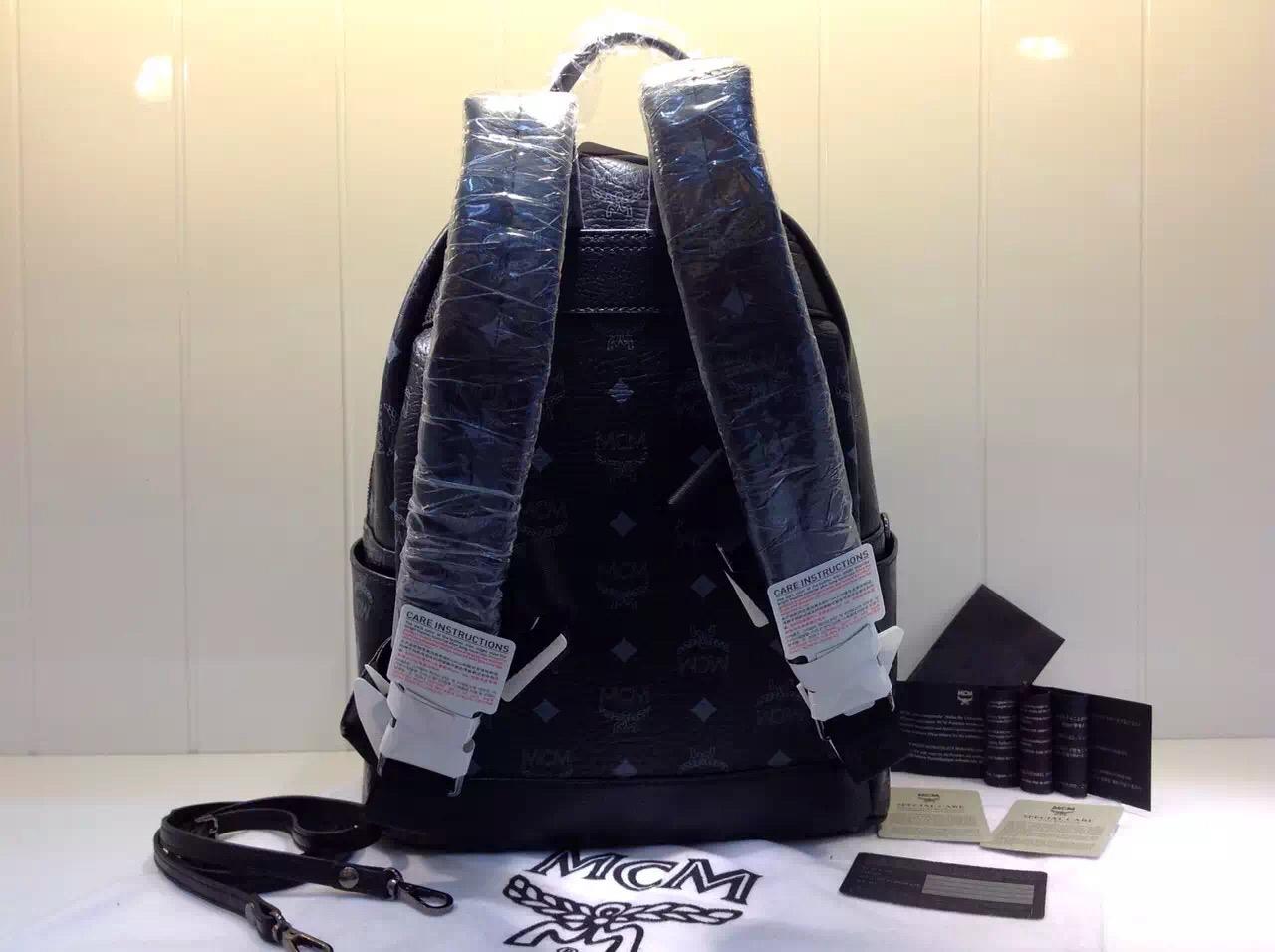 2015年新款 MCM经典子母包 女士背包双肩包 高档包包批发