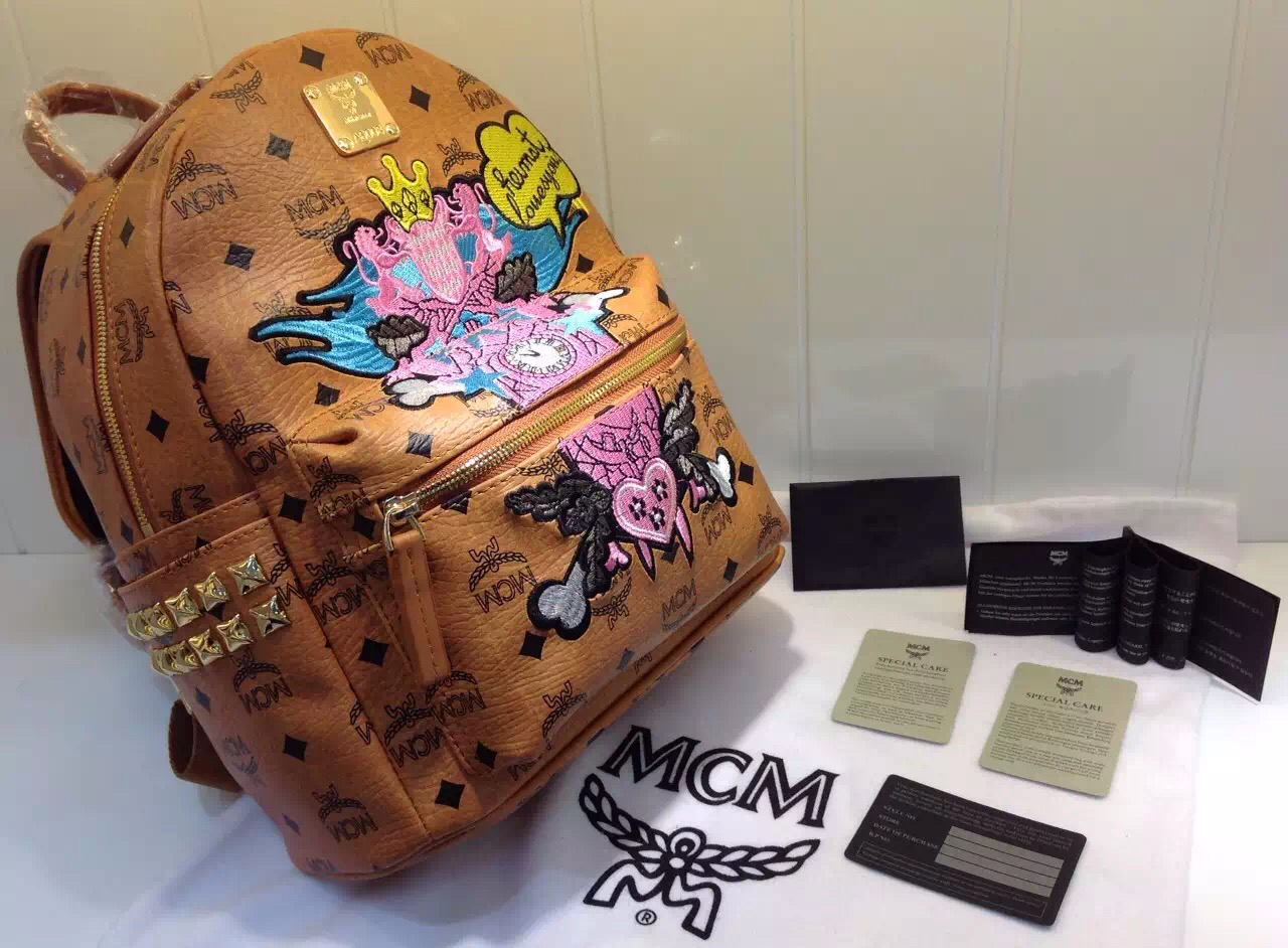 2015限量珍藏纪念版 MCM顶级货源 高档女包批发 广州货源