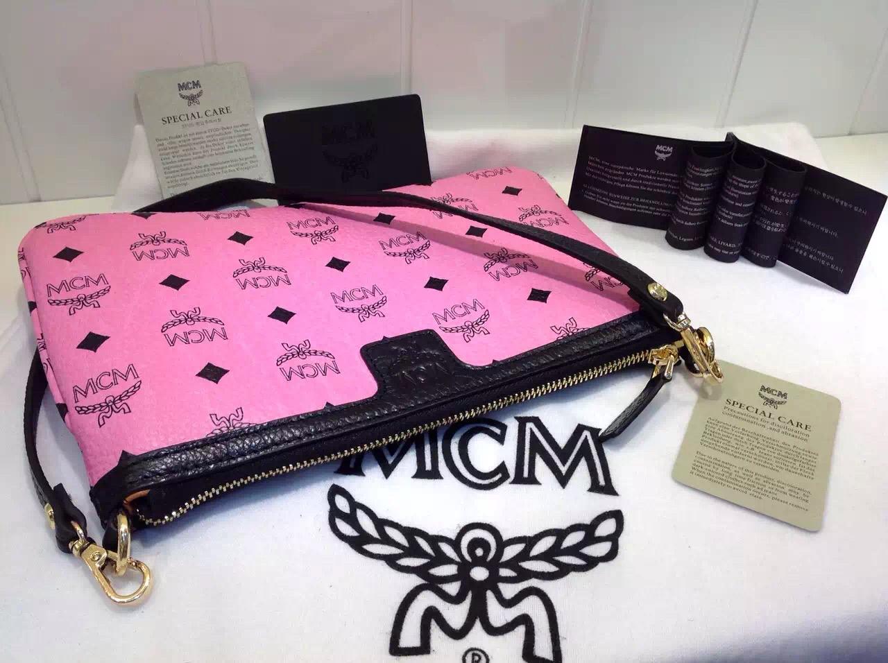 广州白云皮具城 MCM方块正反两用 子母购物袋 原单货