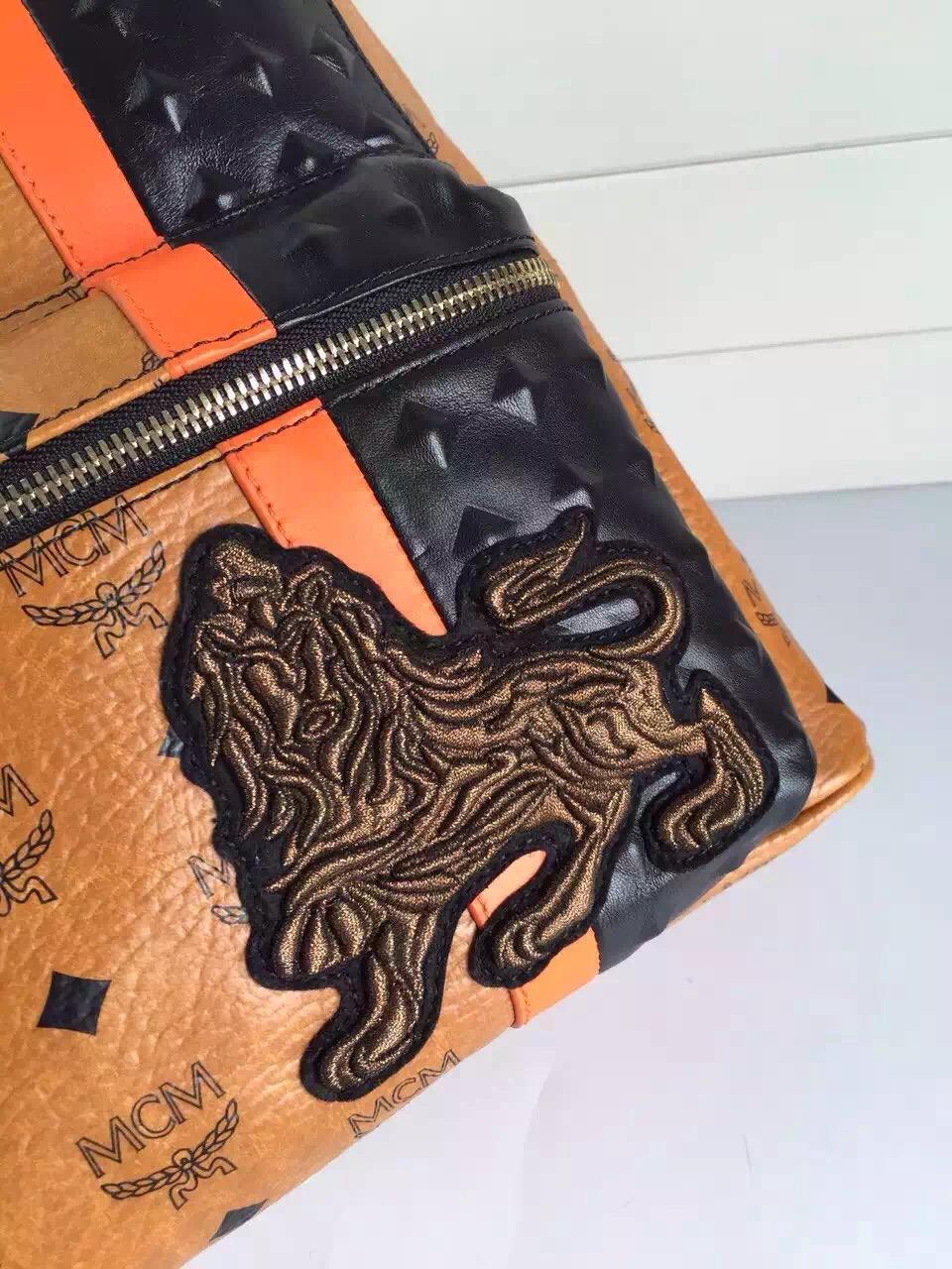 一手货源 MCM原单品质 时尚女士背包 全套包装 一件代发