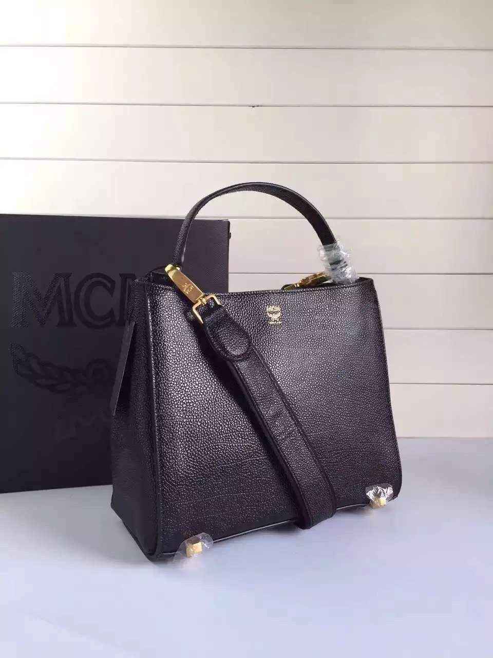 2015新款 MCM旗舰店特供 自家工厂 韩国进口粒面牛皮