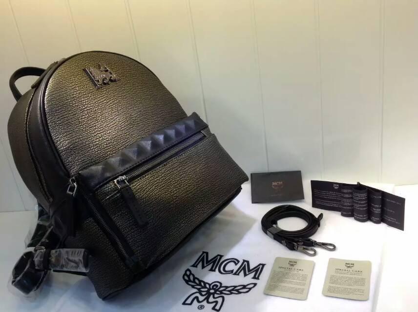 包包批发 MCM限量版子母包 秋冬时尚单品 古金色