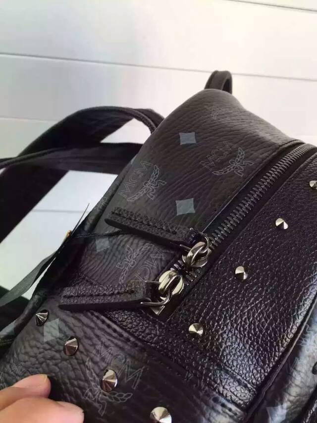 包包批发 MCM原单 一件代发 青岛货 黑色