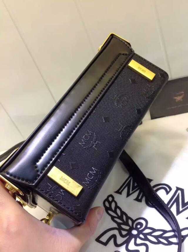 厂家直销 MCM箱型手袋 典雅高贵