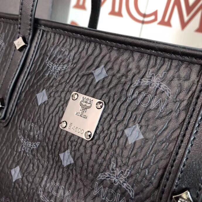 MCM包包官网 Visetos Anya购物袋 实用随和 黑色