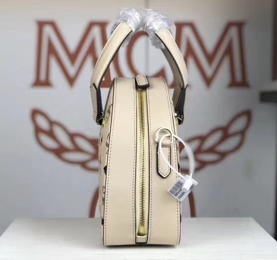 MCM Essential Visetos Original手提包 旅行箱形手提包 经典Visetos印花设计