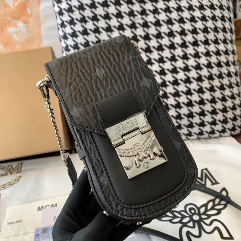 【¥330】MCM春夏新品X-Mini Patricia Visetos迷你斜挎包 采用经典Visetos制成 时尚别致