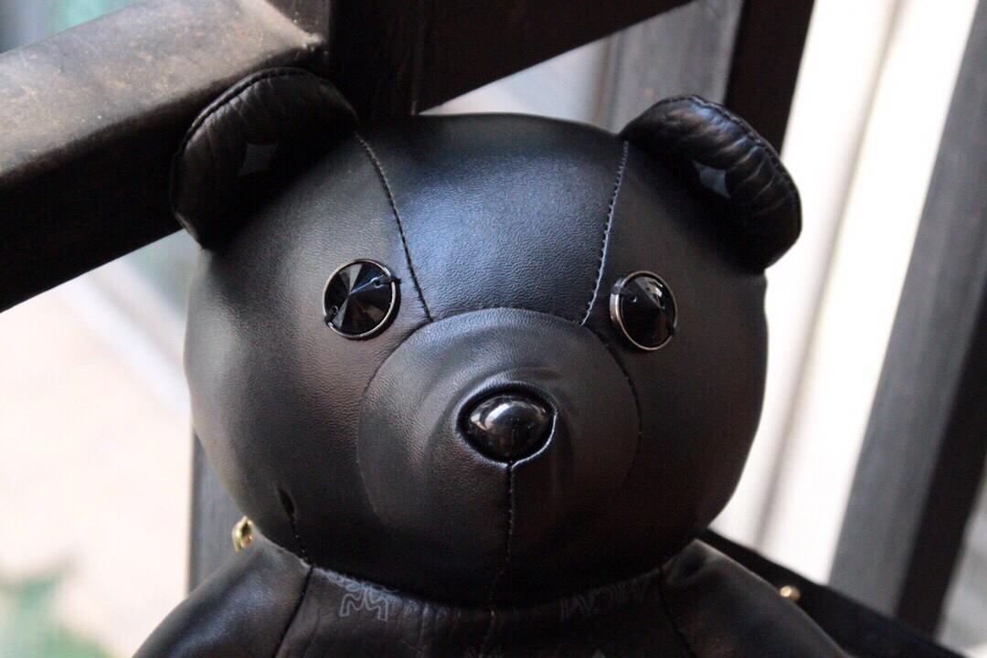 【¥390】MCM包包 Bear Doll熊娃娃系列 肩带多元化 Visetos印花涂层帆布制作